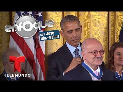 El honor de recibir Medalla Presidencial de la Libertad   Enfoque   Noticias Telemundo