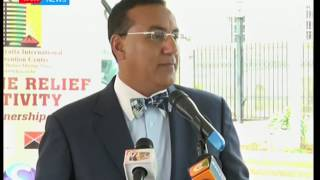 Najib Balala , assures tourists that Cholera outbreak is under control