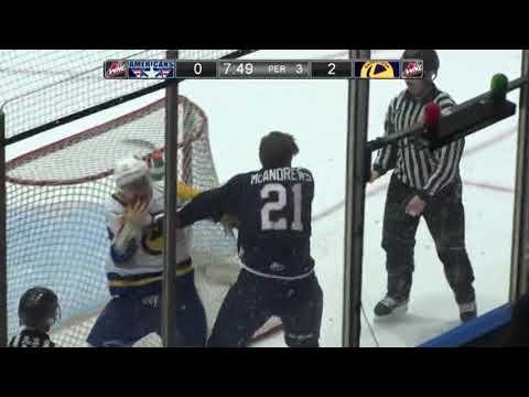 Bryan McAndrews vs. Zach Huber