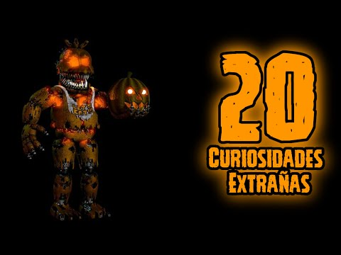 Top 20: 20 Curiosidades Extrañas De Jack-o Chica En Five Nights At Freddy's 4 Halloween