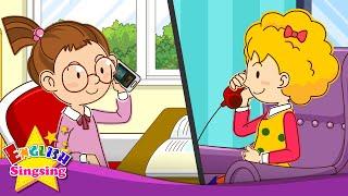 [Điện thoại Conversations] Tôi có thể Nói chuyện với Sally? Nói.