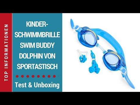 """ᐅ Test-Video der Kinderschwimmbrille """"Swim Buddy Dolphin"""" Sportastisch - Deutsch  ☑"""