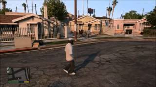GTA V - How To Get To Grove Street (Map Location) Xbox One & 360
