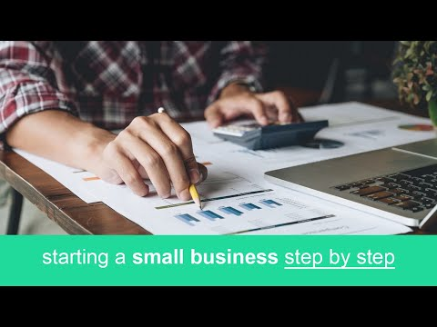 starting a small business step by step basics guide - YouTube