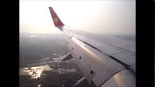 preview picture of video 'Landing at rwy 03 Sultan Hasanuddin Intl. Airport'