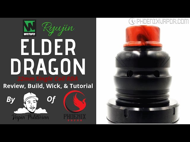 Wotofo x Ryujin Elder Dragon RDA - Puff the smokin Dragon