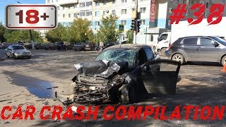 Car crash compilation Dash cam accidents Подборка Дтп #38