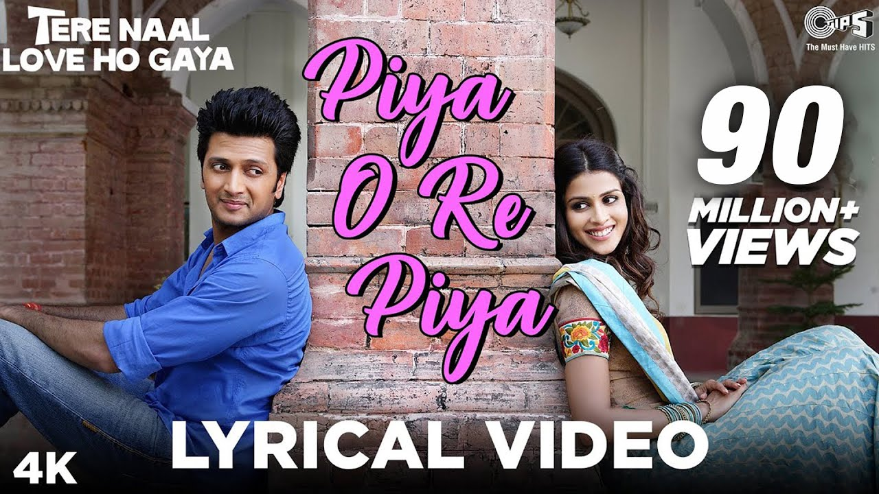 Piya O Re Piya Lyrics| Atif Aslam & Shreya Ghoshal Lyrics
