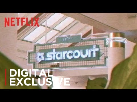 "Stranger Things season 3? ""Coming Soon: The Starcourt Mall! 