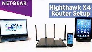 How To Setup NETGEAR Nighthawk X4 AC2350 Wireless Router | R7500