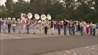 ViJoS Showband buitenrepetitie Bussum Zuid 1990