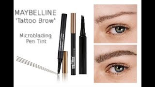 NEW Maybelline Microblading Pen Tint