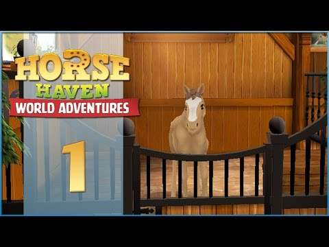 Horse Haven || Meeting Our First Foal! - Episode #1