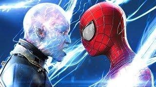 Örümcek Adam Elektrik Adam'a Sonunda Diz Çöktürdü