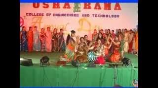 Girls Awesome Performance in College Day Function