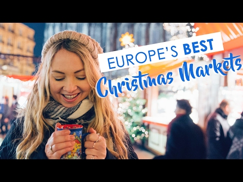Video Visiting 8 of Europe's BEST Christmas Markets in a week!!!