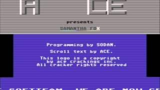 Samantha Fox Strip Poker 1986 C64 Cr ACE