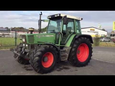 SOLD ! VERKAUFT ! Traktor Fendt 310, 1998, 7458h, FH, FL Konsole, DL, 2dw, Germany
