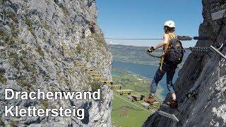 Klettersteig Decin : Drachenwand klettersteig most popular videos