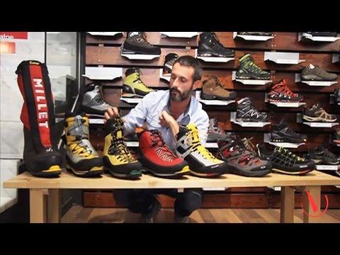 Tipos de calzado para montaña