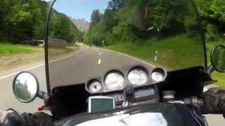 VAMIRACING 2013 Maloja Moto Guzzi 1000 SP and BMW 1100
