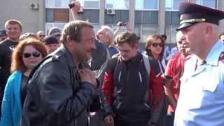 Байкеры пытают нового начальника полиции Сергиева Посада