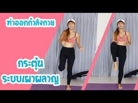 วิดีโอการออกกำลังกายลดน้ำหนักต้นขา