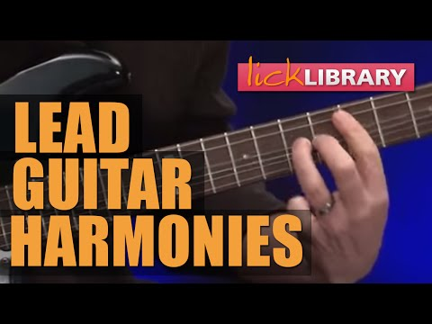 Lead Guitar Harmonies Lessons With Danny Gill | Licklibrary Online Guitar Lessons
