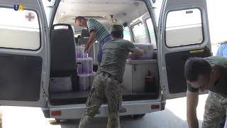 40 тонн гуманитарной помощи из Франции доставили в Луганскую область