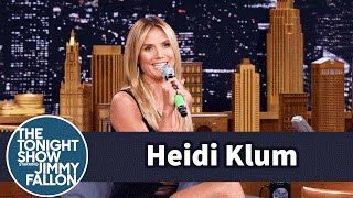 Heidi Klum Yodels A German Tune