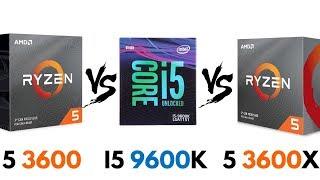ryzen 5 3600 vs 3600x - TH-Clip