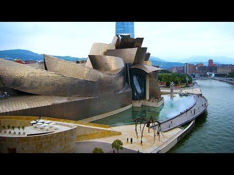Bilbao.Испания.Прогулка по Бильбао