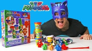 PJ Masks Softee Dough Mold N Play Figure Maker ! || Toy Reviews || Konas2002