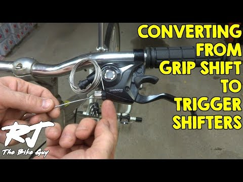 Convert From Grip Shift to Trigger Shifters