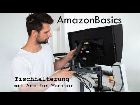 AmazonBasics Tischhalterung Monitorarm