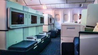 Whoa. YVR-JFK Philippine Airlines 777-300ER business class!