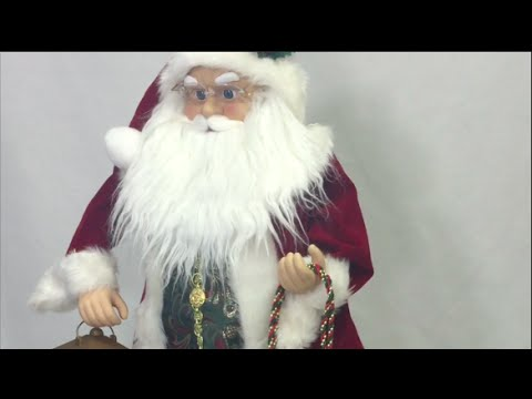 Santa Claus Animated Christmas Decoration