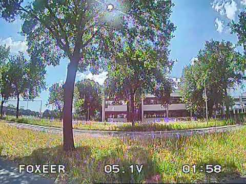 Foxeer Predator 4 - Uneditted DVR recording - Sunny Day