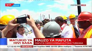 President Uhuru flags off Kenya's maiden crude oil export