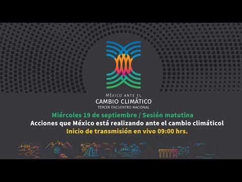 Acciones que México está realizando ante el cambio climático / Sesión Matutina