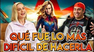 Entrevista a Capitana Marvel, 1er mujer de Marvel que protagoniza una película