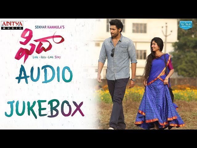Fidaa Audio Songs Jukebox | Fidaa Video Songs 2017 | Varun Tej, Sai Pallavi
