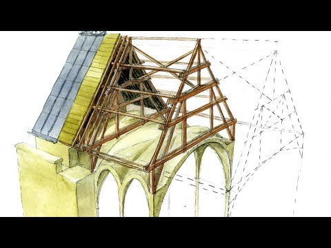 The roof of Notre-Dame de Paris. Analysing the structure and its destruction [28:52]