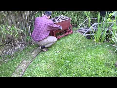 Tren de jardín - Trocha 200mm (4) - Vagón tolva volcadora