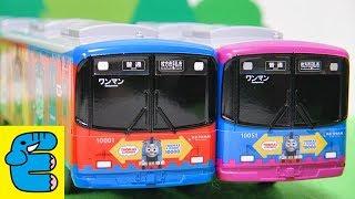 プラレール 京阪電車10000系きかんしゃトーマス号改造 Plarail Upgrade Keihan 10000 Series Thomas And Friends [English Subs]