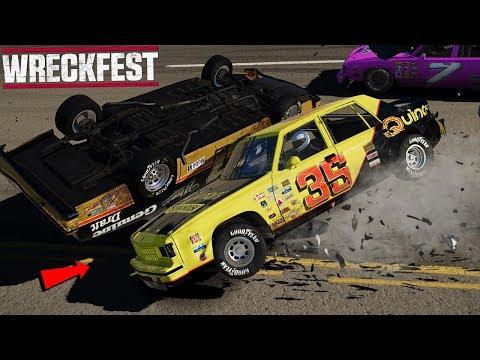 NASCAR RACING IN WRECKFEST - Wreckfest Game