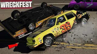 NASCAR RACING IN WRECKFEST - Wreckfest Game
