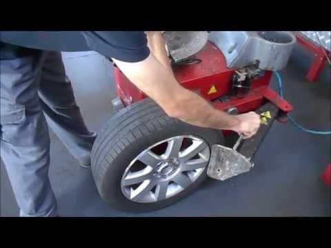 Cómo realizar el cambio y equilibrado de neumáticos