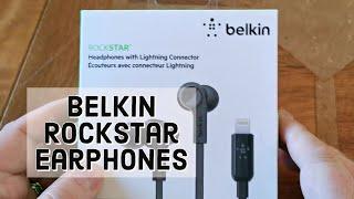 Belkin Rockstar Earphones with lightning connector REVIEW for iPhone 11