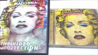 Madonna - Celebration CD + Celebration The Video Hits Collection 2 DVD UNBOXING